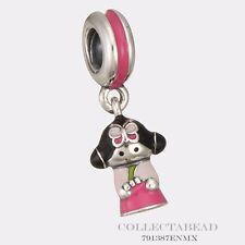 Authentic Pandora Sterling Silver Hanging Enamel Korean Doll Bead 791387ENMX