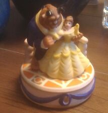 Disney Beauty And The Beast Musical Porcelain/Bisque Figurine
