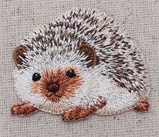 Hedgehog - Natural/Brown Hedgie/Animals/Pets Iron on Applique/Embroidered Patch
