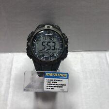 5ff8dbb7c336 Reloj Deportivo Reloj Timex Hombre Marathon Indiglo Digital Negro (T5K802)  batería Nueva