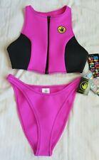 NWT Body Glove Swimsuit Bikini M Better then Neoprene SMUSH High Neck Tank Zip