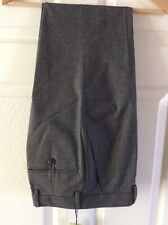 Mens Black And White Grey Trousers Waist 28 Short Leg Slim Fit Stretch  NEW M&S