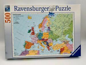 500 Pieces Puzzle - Europe Political - Ravensburger