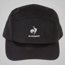 NEUF casquette LE COQ SPORTIF noire taille unique sport baseball chapeau biker
