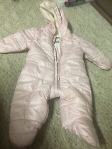Old Navy Girls Snowsuit Pink Size 0-3 Months