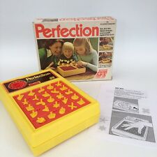 Vintage Perfection Game 1980 Action GT Boxed Working Replaced Instructions