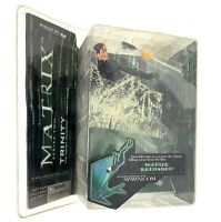 Matrix Reloaded Trinity Falls (McFarlane, 2003) Action Figure, Series Two,