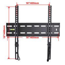 "Ultra Slim TV Wall Mount Bracket 28 32 39 40 42 46 47 50 55"" LED LCD Plasma C7S"