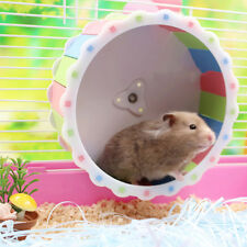 Cute Silent Hamster Toys Gerbil Rat Mice Exercise Running Spinner Wheel Toy 6A