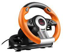 Speedlink Drift OZ Rennlenkrad mit Pedale und Getriebe für PC & PS3 SL-6695-BKOR