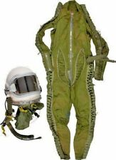 Soviet MIG Jet Pilot High Altitude Compensation Suit  Gah-6 Helmet Set