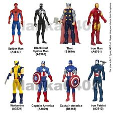 Avengers 12 inch Action Figure Captain America Spiderman Ironman Thor Wolverine