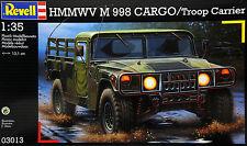 KIT REVELL 1:35 HMMWV M 998 CARGO TROOP CARRIER 03013
