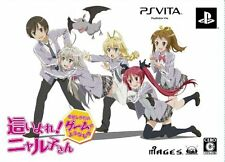 Used PS Vita Haiyore Nyaruko-San Limited Box Japan Import
