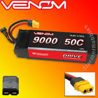 Venom DRIVE 50C 4S 9000mAh 14.8V LiPo Battery with UNI 2.0-TRX Plug VNR15189