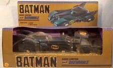 Batman 1989 Tim Burton  Movie Toy Biz Radio Control Batmobile (MIB) Keaton