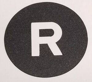 2003-13 Lamborghini Gallardo 01-10 Murcielago Reverse Switch Repair Decal E-Gear
