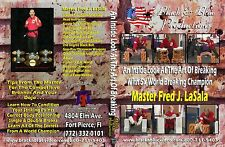 An Inside Look at the Art of Breaking with Master Fred LaSala Instructional DVD