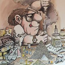 Vintage Pharmacist Poster - Gary Patterson - NEW
