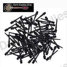 1 Pack of 1000 Tufflex II Darts Soft tips in Black by Darts Supplies Shop