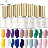 BORN PRETTY 6ML UV Gel Nail Polish Soak off Colorful Gel Varnish  DIY