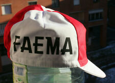 NEW FAEMA Vintage Team Cycling Cap - Made in Italy