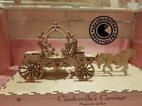 Maquette disney Cinderella's carriage - Disney land paris - Neuf