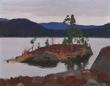 Gagnon Clarence Lake Nissedal Canvas 16 x 20     #3293