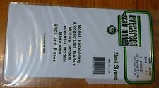 "Evergreen Styrene #2100 / 6 x 12"" Styrene Siding Sheet, V-Groove .020"" Thick --"