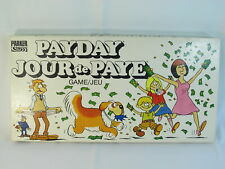 Payday 1984 Board Game Parker Brothers 100% Complete Excellent Bilingual %%%%