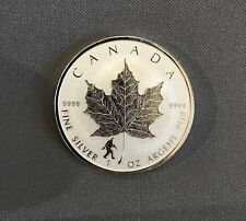 2016 $5 SILVER Maple Leaf BIGFOOT PRIVY mark - Reverse Proof