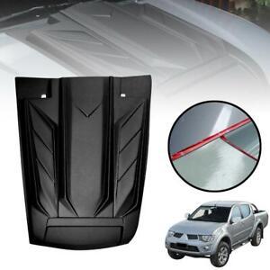 Bonnet Hood Scoop Matte Black For Mitsubishi Triton MN ML L200 2005-2014