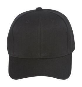 Fitted Cap - Black