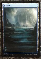 MtG : Altered art -ISLAND- hand-painted textless extension