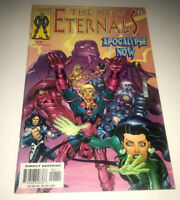 New Eternals Apocalypse Now #1 1999 Marvel Comic Deviants  MCU Movie Higgins