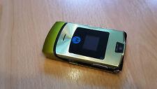 Klapphandy Motorola RAZR V3i grün lime + simlockfrei + mit Folie + topp