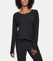 $100 Under Armour UA Recover Ultra Comfort Sleepwear Women's L Long Sleeve Shirt