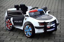 Chevy Camaro Kinder Elektro Auto Polizei USA Kinderauto Police Fernbedienung MP3