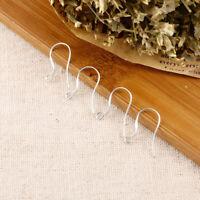 200pcs 925 Sterling Silver Earring Findings Ear Wires Hooks DIY 100 Pairs