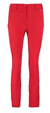 Cerruti 1881 women's red slim fit trousers size 42 IT*