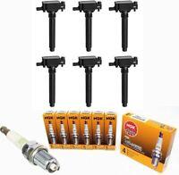 Ignition Coil + NGK Platinum Spark Plug for Chrysler Dodge Jeep Ram 3.2/3.6L V6