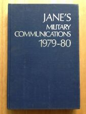 1979 - 1980 JANE'S MILITARY COMMUNICATIONS 1979-80 BOOK