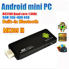 Smart Quad Core TV Box MK809 III 2G/ 8G Android 4.4 HDMI WIFI Bluetooth Mini PC