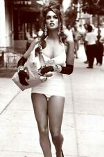 New York beautiful in the street Nice Sexy Girl Old Nice Photo Glossy 4x6 inch X