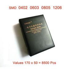 Smdsmt 0402 0603 0805 1206 Resistors Component Sample Book 1 Kit 8500pcs
