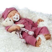 Realistic Handmade Baby Doll Girl Lifelike Vinyl Weighted Alive Reborn OPEN BOX