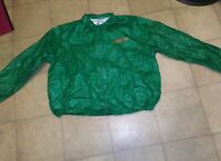 VTG/Salem Cigarettes Tyvek Windbreaker Jacket Adult/XL (44-46) Green Promo 90s