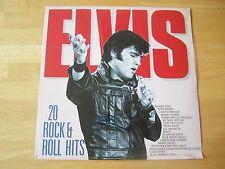 Sealed Elvis Presley LP, 20 Rock & Roll Hits,  Holland, Flash-Back # 34038
