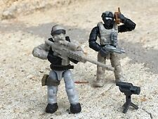 Custom Army Commando Soldier Lot # 28 Works With Most Lego & Mega Bloks Sets