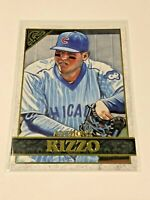 2020 Topps Gallery Baseball Base Card - Anthony Rizzo - Chicago Cubs